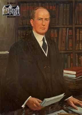 Reproduction of portrait portraying Arthur Meighen (ca. 1920)