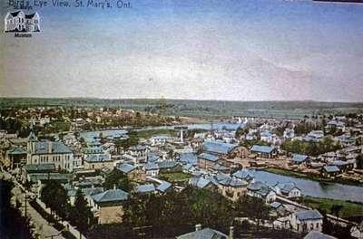 Bird's Eye View of St. Marys