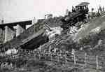 Train wreck, 1900