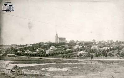 View of the North Ward, ca. 1890