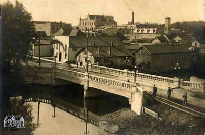 Wellington Street bridge, ca. 1910