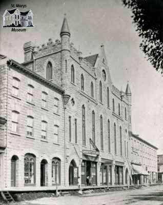 St. Marys Opera House, 1884
