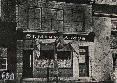 Exterior of the St. Marys Argus