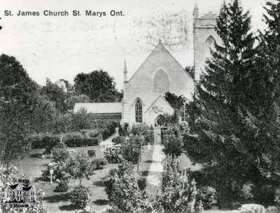 St. James Anglican Church, ca. 1900