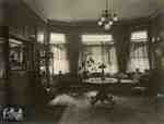 Interior view of Athol Brae, 1913