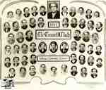 Composite of the members of the McConnell Club, 1954