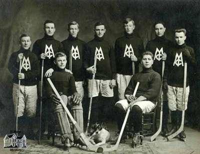 St. Marys Methodist Church Hockey Team