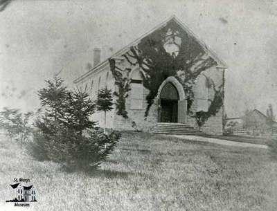 St. James Anglican Church, 1858-9