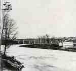 Sarnia railway viaduct, ca. 1870s