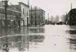 Flood, 1947 - Queen Street looking west