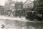 Flood, 1947 - view of Queen Street