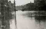 Flood, 1947 - view of Queen Street looking west