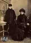 Alice Cruttenden Stoddart and Eunice Cruttenden Clench