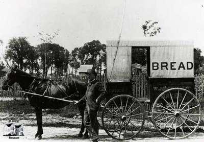 Bartlett Bakery Wagon, ca. 1890