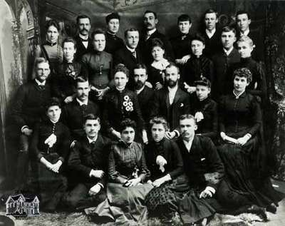 Methodist Church Choir, ca. early 1890s