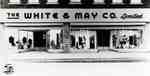 Front of White & May Co.