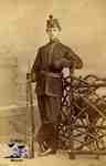 Man in militia uniform