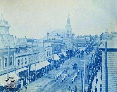 Parade on Main Street