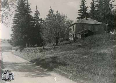 Glengowan - House and Mill, 1963