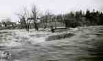 Park Street bridge washed out, 1947