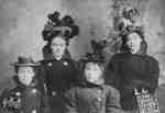 The Purdue girls, 1900