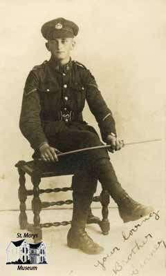 Lance Corporal Sidney Eric Taylor