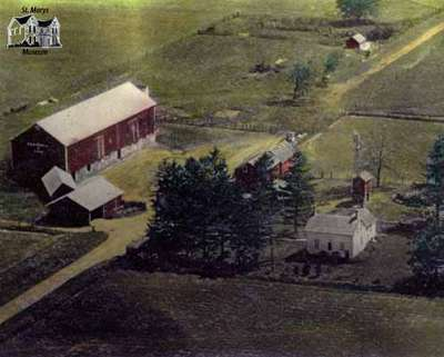 Riddell homestead, ca. 1950