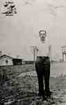 Tom Swan standing near the Junction station