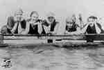 Five women in bathing suits