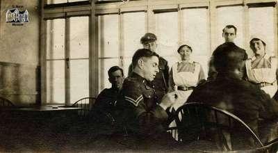 Field hospital in France, 1917