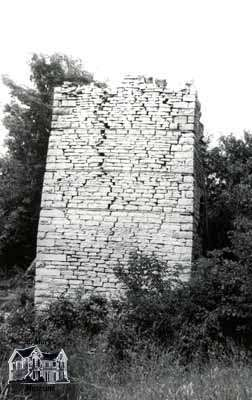The Kiln from the former Sclater Lime Works