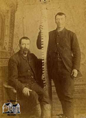 Portrait of the Riddell Brothers