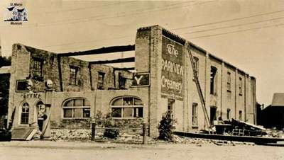 """Old Creamery """"The Parkview Creamery"""""""