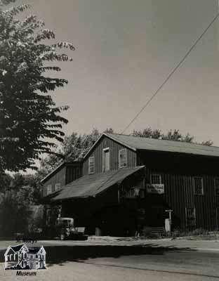 Mill near the Church Street Bridge, 1948.