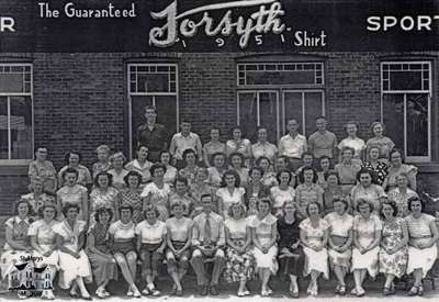 Forsyth Limited Group Staff Photo, 1951