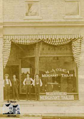 Store of M.J. O'Dea, Merchant Tailor
