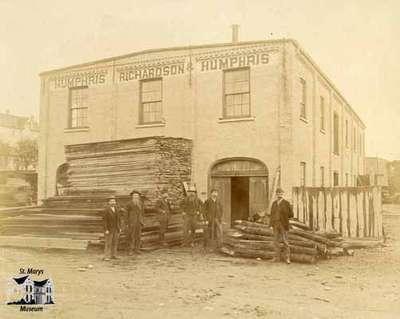 Humphris, Richardson, and Humphris Lumber Mill