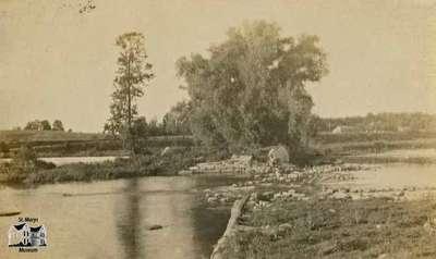 Dam of Victoria Mills