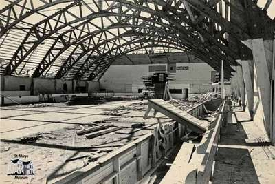 Construction of Water Street Arena