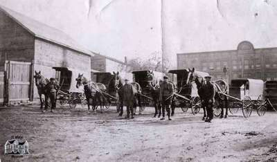 Horse Drawn Delivery Wagons