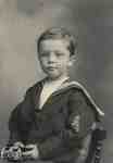 Small boy in sailor's uniform