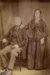 Middle-aged man and woman, late 1800's