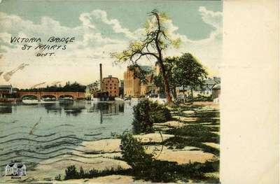 Victoria Bridge, St. Marys, Ont.
