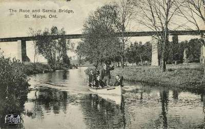 The Race and Sarnia Bridge, St. Marys