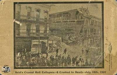 Reid's Crystal Hall Collapse