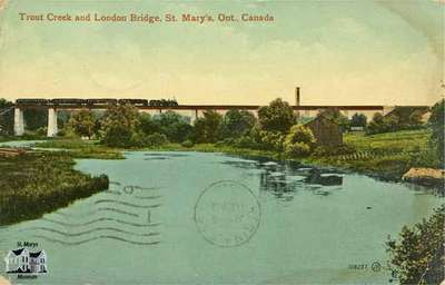 Trout Creek and London Bridge, St. Marys