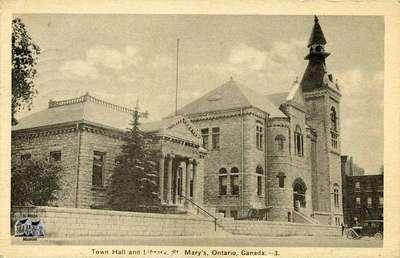 Town Hall and Libary