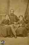 Angus McIntyre with his daughters: Adaline and Mary Ann