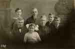 A three generation family portrait of the McFadzen-Henderson family.