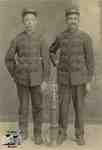 Jack Alberts, Joseph Alberts wearing firemen's uniform